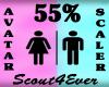 Avatar Scaler 55% DER