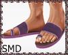! Sandals Purple