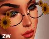 Sunflowers Glasses