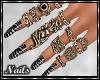 Nails - Zebra Design V1