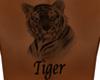Tiger Tattoo Back M