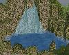 Natural Rock Water Fall