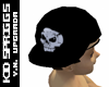 *All Black Skull Cap