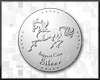 Silver support coin