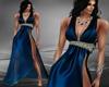 S-*Alva gown blue*