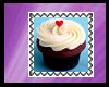 M! Cupcake Stamp