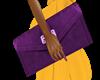 Large Purple Clutch