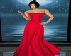 Red Christmas Gown