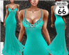SD Apatite Teal Gown