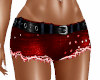 Shorts Jeans Hot Red