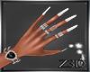 [Z3D] Nails+rings white