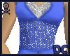 *DC Elegant Blue Gown