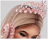 Pink Crown Headphones