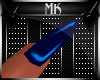 !Mk! PVC Blue Nails