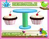Cupcake Chairs + Table