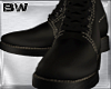 Brown Leather Boots 4K