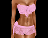 HOTT Pink Lace Set