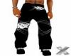 X Black Pants