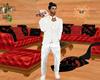White Groom's Suit
