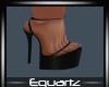 Conny Black Heels