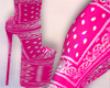 Code Pink Boots