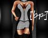 [bp] Olivia Dress White