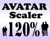 Avatar Scaler 120% / M
