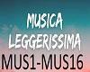 METTI UN PO DI MUSICA