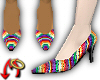 Rainbow Pumps