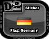 [D2] Flag Germany