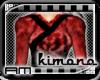 [AM] Red Petal Kimono