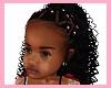 kids, braids pink beads