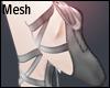 +Ballerina Shoes+Mesh