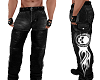 Harley Chaps Black Jeans