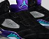 Black Grape 5s Wht/soc