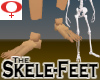 Skele-Feet -Womens