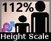 Scale Height 112% F A