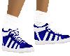 Royal Blue Sock Shoe