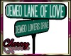 DeMeo Love Street Signs