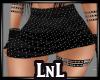 Black bling skirt