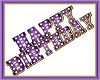 Purple bday marquee NIC