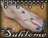 Summer Feet Aqua SLV