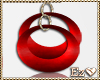 RED PASION EARRINGS