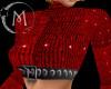 (M)Xmas Top Red