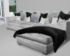 chic grey sectional