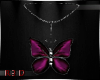 [R] Butterfly Necklace|L