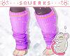 [S] Halloween Socks Purp