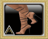 (AL)Strappy Heels Black
