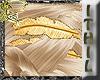 Golden Laurel Leaf Clip