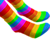 B! Rainbow Feet pt.2
